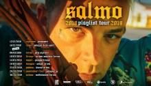 """Salmo torna in tour per la prima volta nei palasport di tutta Italia con il """"Playlist Tour 2019"""" dal 9 marzo"""