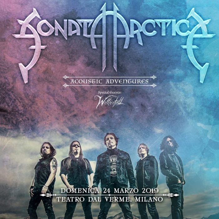 I Sonata Arctica si esibiranno in acustico al teatro Dal Verme di Milano il 24 marzo