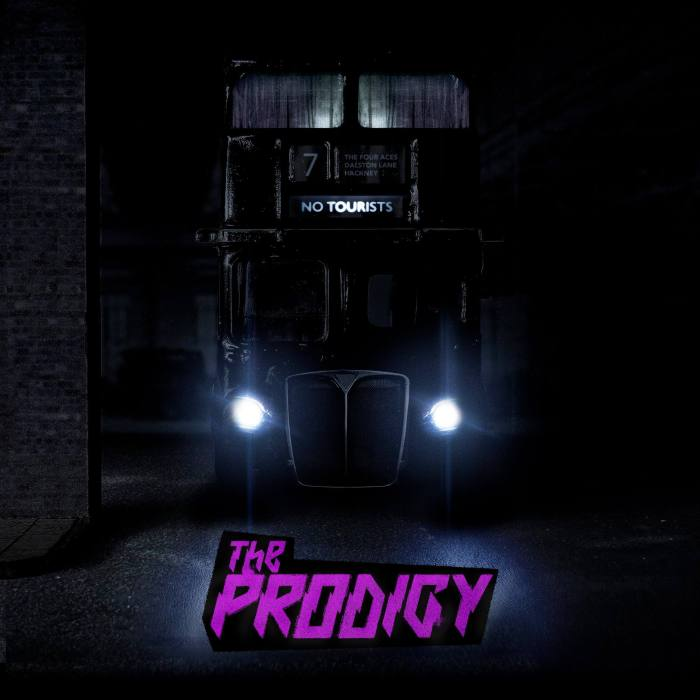 """No Tourists"" album cover copertina The Prodigy"