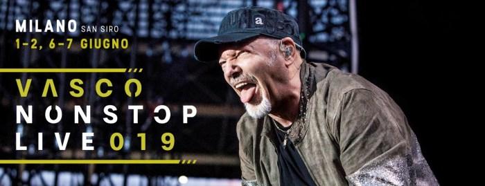 Vasco Rossi torna dal vivo nel 2019 con quattro concerti a San Siro