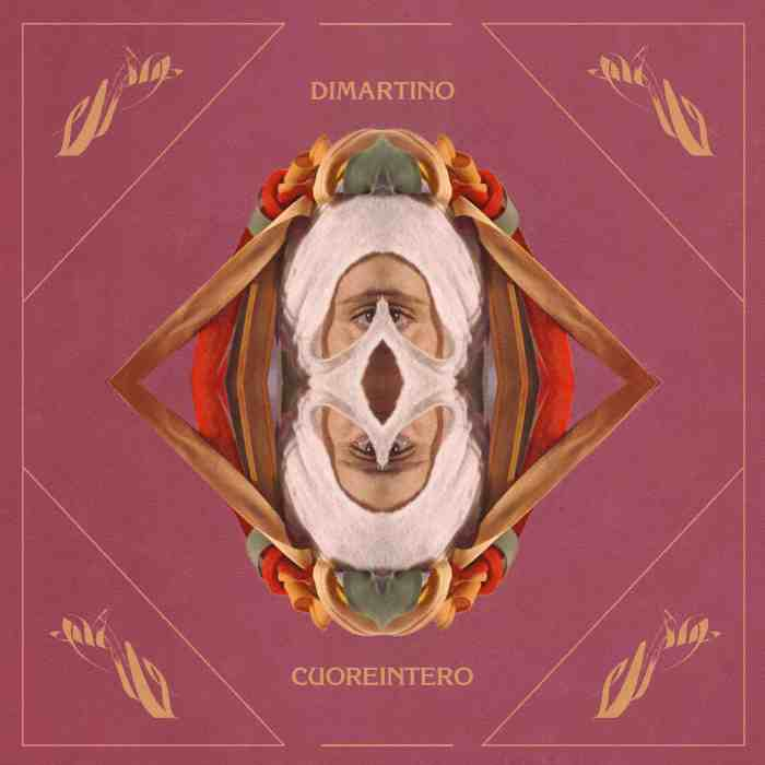 """Cover copertina """"Cuoreintero"""" Dimartino"""