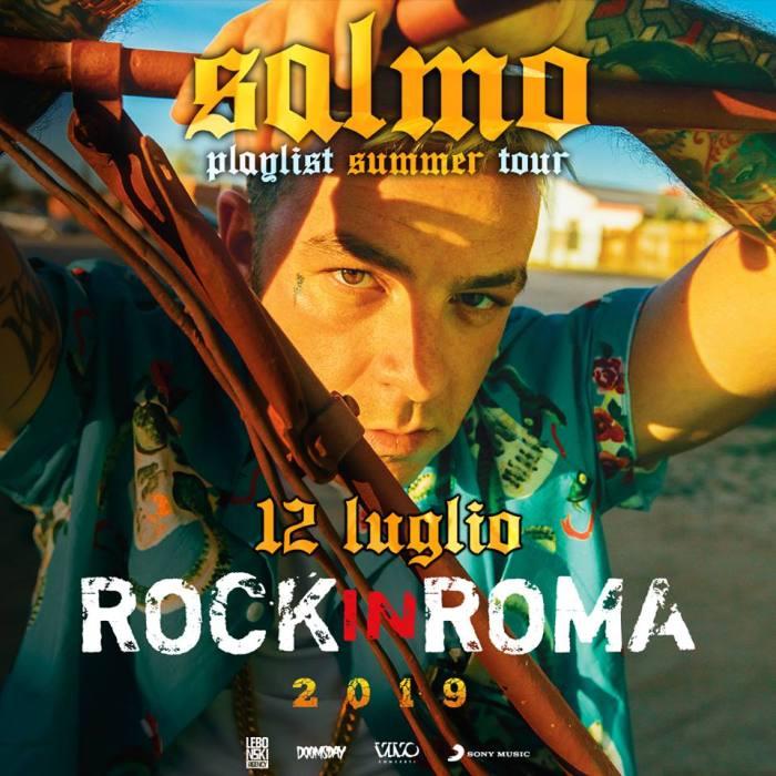 Salmo si esibirà il 12 luglio all'Ippodromo delle Capannelle per il Rock In Roma con una data evento speciale