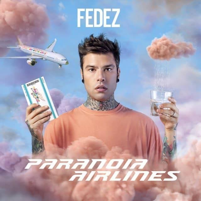"""""""Paranoia Airlines"""" di Fedez uscirà il 25 gennaio 2019 e lo porterà in tour nei palasport a marzo e aprile"""