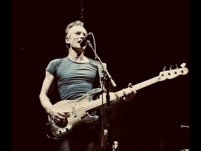 """Sting porta in Italia """"My Songs"""" per due date il 29 luglio al Lucca Summer Festival e il 30 a Padova"""