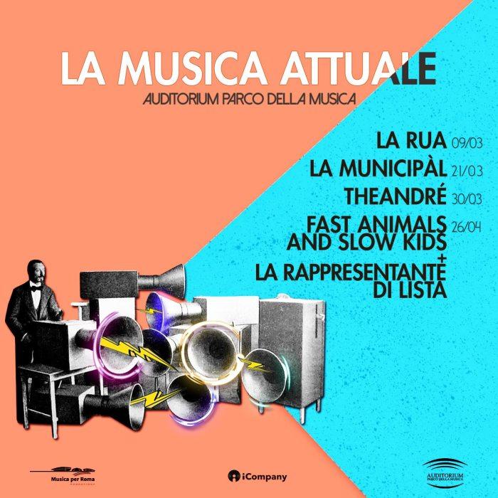 """""""La Musica Attuale"""" a marzo e aprile con Le Ore, La Municipal, FASK e altri"""