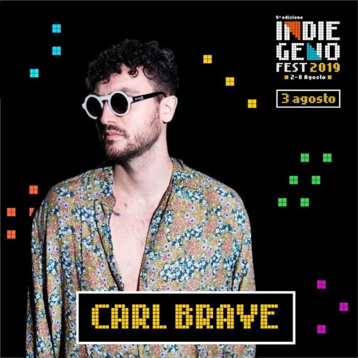 Carl Brave il 3 agosto all'Indiegeno Fest