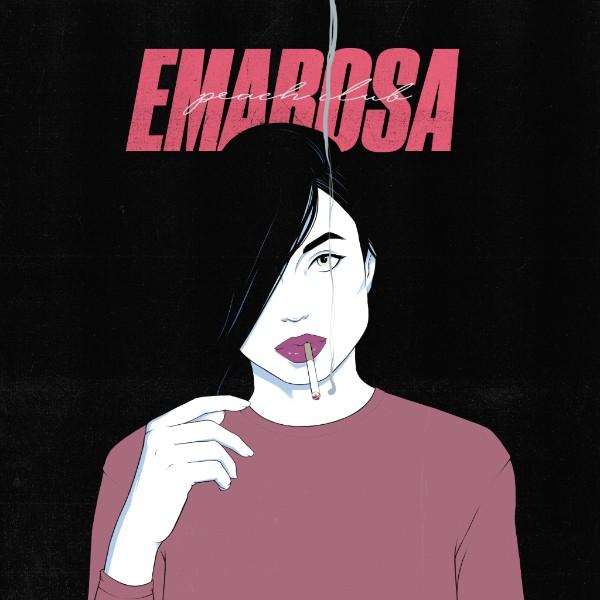 """copertina Emarosa """"Peach Club"""""""