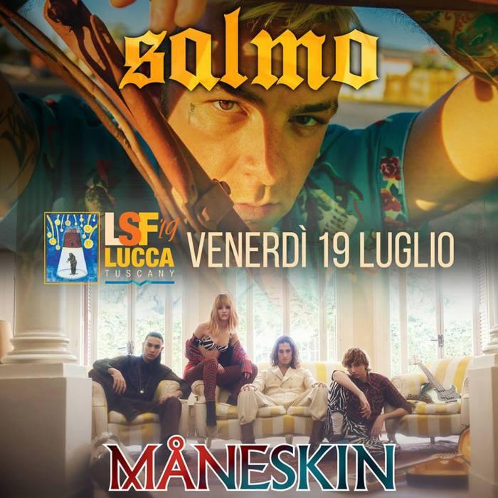 Salmo e Maneskin al Lucca Summer Festival