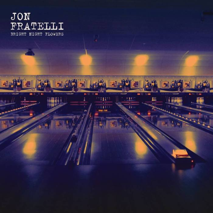 "copertina album ""Bright Night Flowers"" Jon Fratelli"