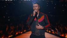 I Maroon 5 si sono esibiti al 53esimo Super Bowl ad Atlanta