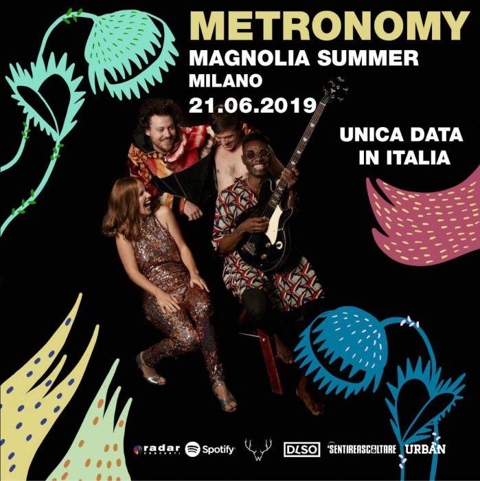 Metronomy in concerto il 21 giugno al Circolo magnolia di Milano per #MusicIsMyRadar