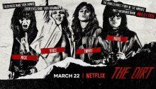 """Motley Crue, esce la colonna sonora del biopic """"The Dirt"""" con Machine Gun Kelly e cover di Madonna"""