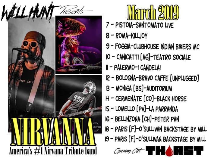 Nirvanna in Italia dal 7 marzo