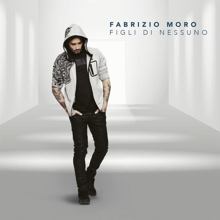 """copertina album Fabrizio Moro """"Figli Di Nessuno"""""""