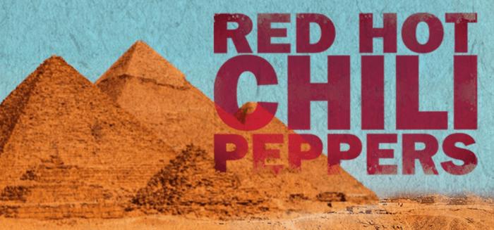 Red Hot Chili Peppers dal vivo venerdì 15 marzo alle Piramidi di Giza in streaming sul canale Youtube, Facebook e Twitter