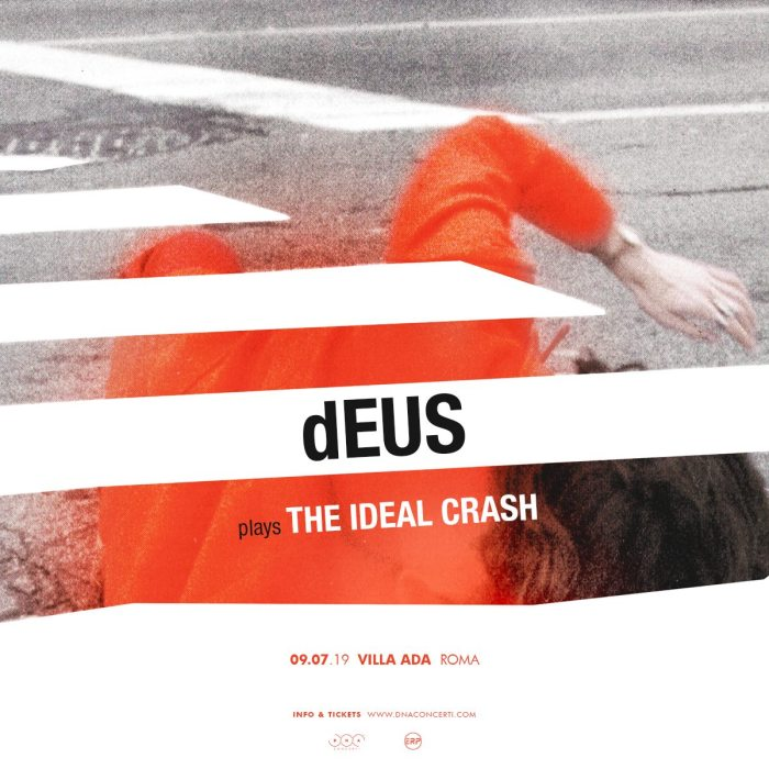 Deus in concerto il 9 luglio a Villa Ada, Roma