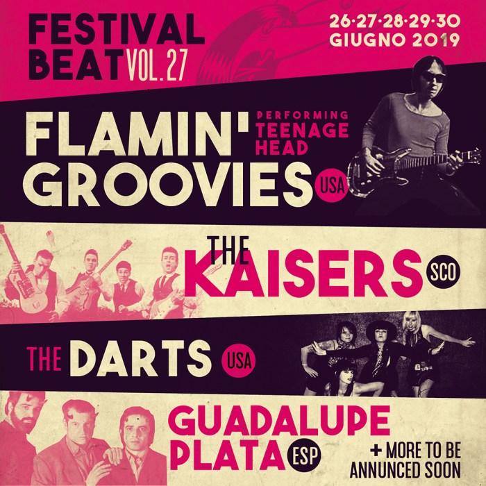Festival Beat edizione 27 dal 27 giugno al 30 giugno a Salsomaggiore