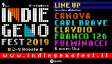 Indiegeno Fest 2019 con Canova, Franco126, Clavdio e Fulminacci dal 2 all'8 agosto a Patti