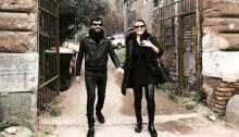 Emanuele Spedicato finisce la riabilitazione a Roma e torna a casa con la moglie Clio Evans