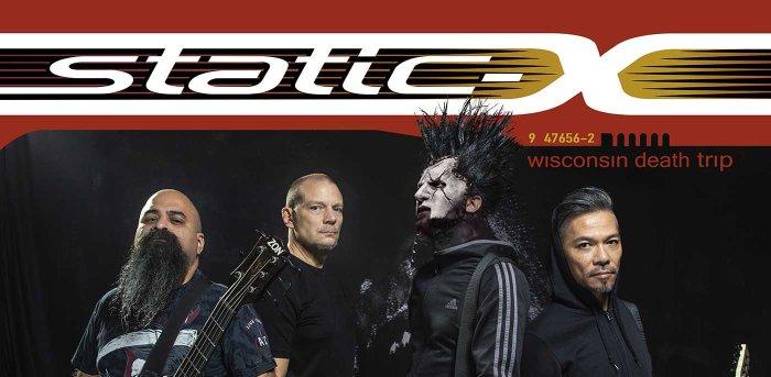 """Static-X in concerto il 12 ottobre a Pinarella di Cervia con """"Wisconsin Death Trip"""""""