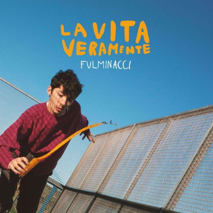 """copertina album """"La Vita Veramente"""" Fulminacci"""