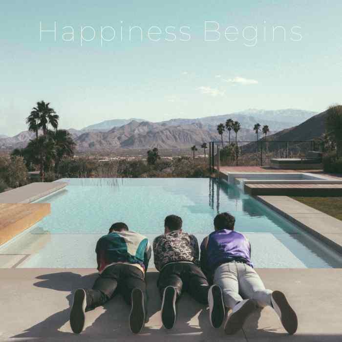 """Happiness Begins"" copertina nuovo album Jonas Brothers"