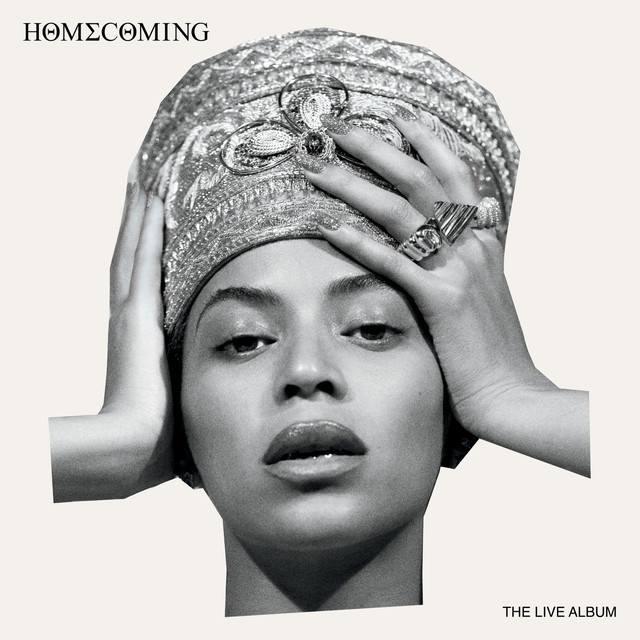 """Homecoming: The Live Album"" Beyoncé copertina"