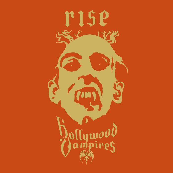 """Hollywood Vampires copertina album """"Rise"""""""