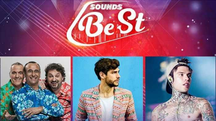 Sounds Best allo Stadio Stirpe di Frosinone con Fedez, Alvaro Soler, Pieraccioni/Conti/Panariello