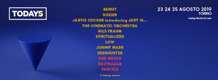 Nel cast del TOdays Festival 2019 si aggiungono Bob Mould, Parcels e Balthazar
