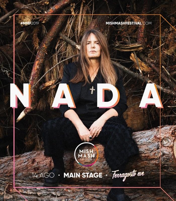 Nada headliner il 14 agosto al Mish Mash Festival
