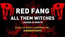 All Them Witches in sostituzione dei Melvins il 24 giugno al Carroponte con Red Fang
