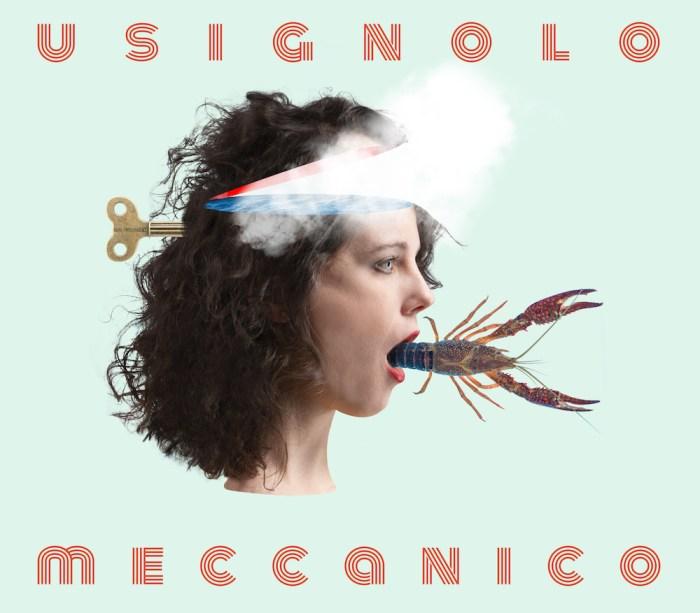 """copertina album La Tarma """"Usignolo meccanico"""""""