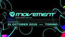 Primi nomi del Movement Torino Music Festival 2019 al Lingotto Fiere di Torino