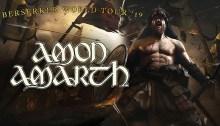 Amon Amarth dal vivo il 20 novembre all'Alcatraz di Milano