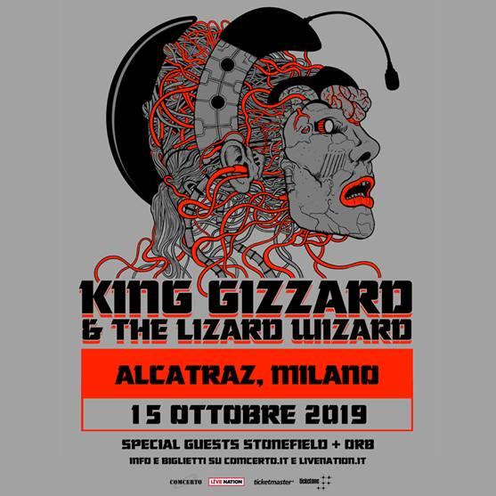 King Gizzard in concerto il 15 ottobre a Milano