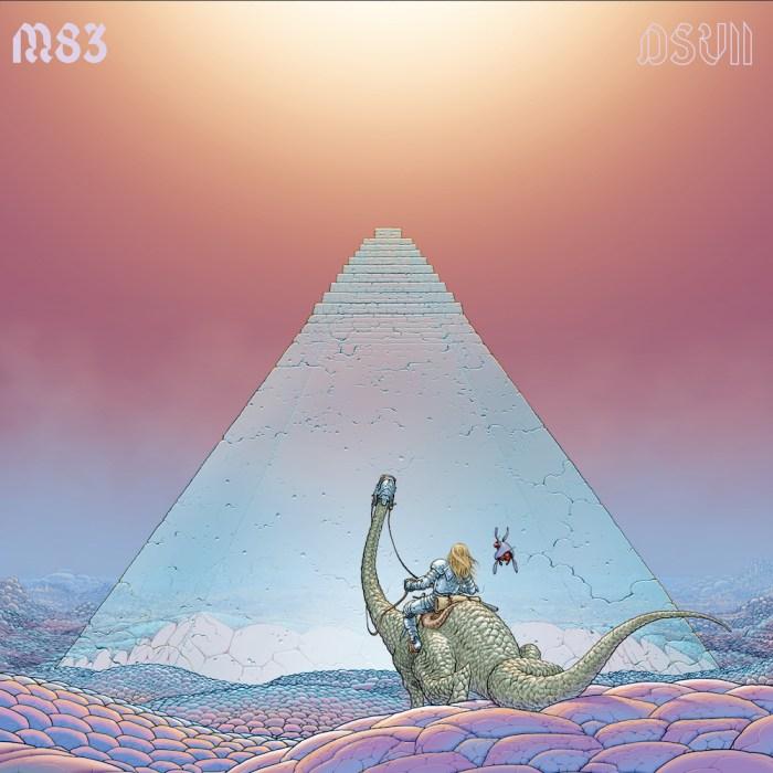 """copertina album M83 """"DSVII"""""""