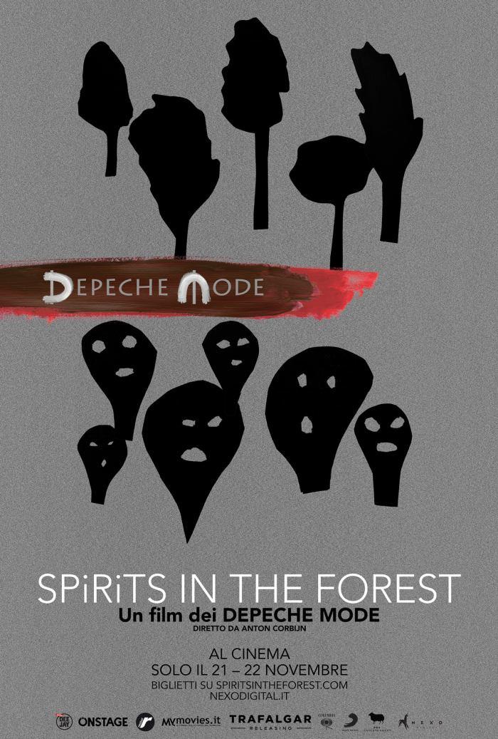 """Depeche Mode nie cinema il 21 e 22 novembre con """"Spirits In The Forest"""""""