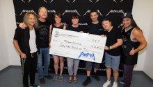 I Metallica donano oltre 1 milione e mezzo di dollari per beneficenza