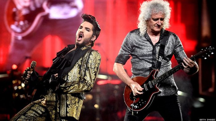 Queen + Adam Lambert - Foto Getty Images