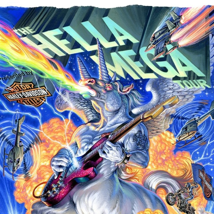 """""""The Hella Mega Tour"""" arriva in Italia il 10 giugno a Milano"""