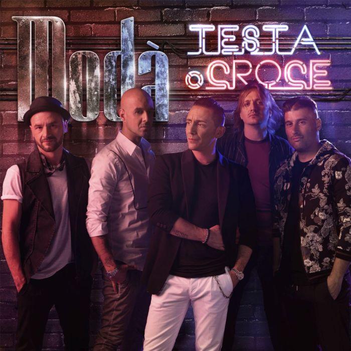 """copertina album Modà """"Testa o Croce"""""""