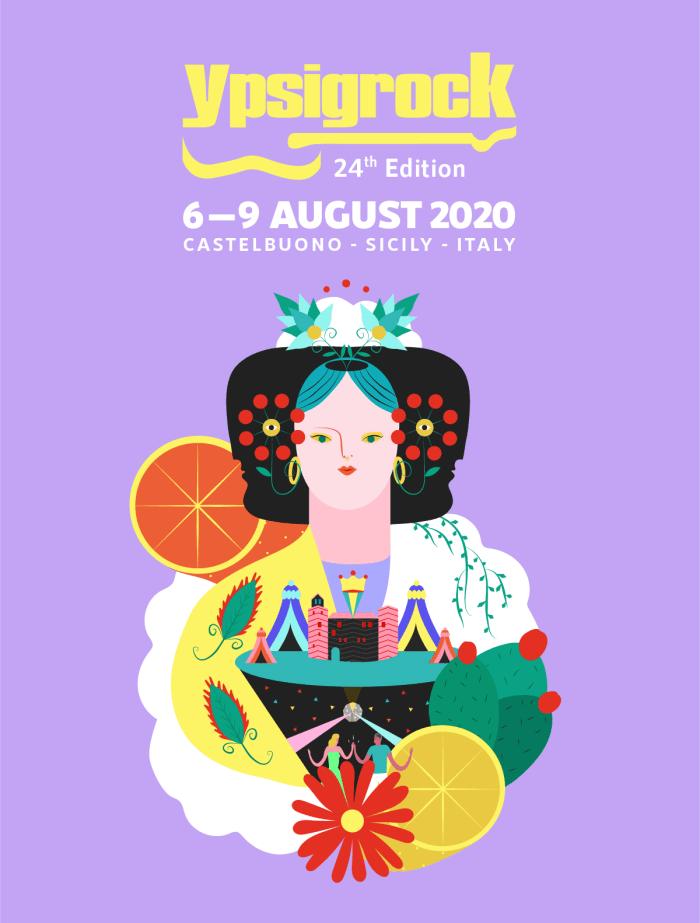 Artwork a cura di Alba Blazquez per Ypsigrock Festival 2020