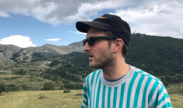"""Giorgio Poi nuova canzone """"Erica cuore ad elica"""""""