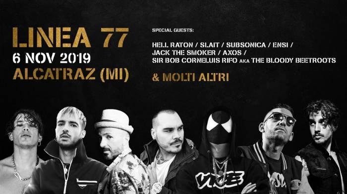 Linea 77 concerto Milano 6 novembre