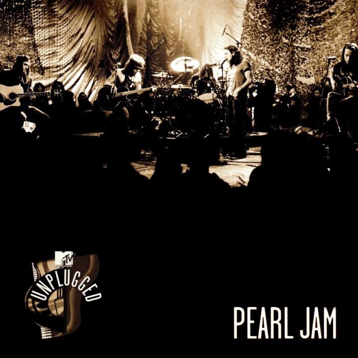 """I Pearl Jam pubblicano per il Record Store Day il 29 novembre """"MTV Unplugged"""""""