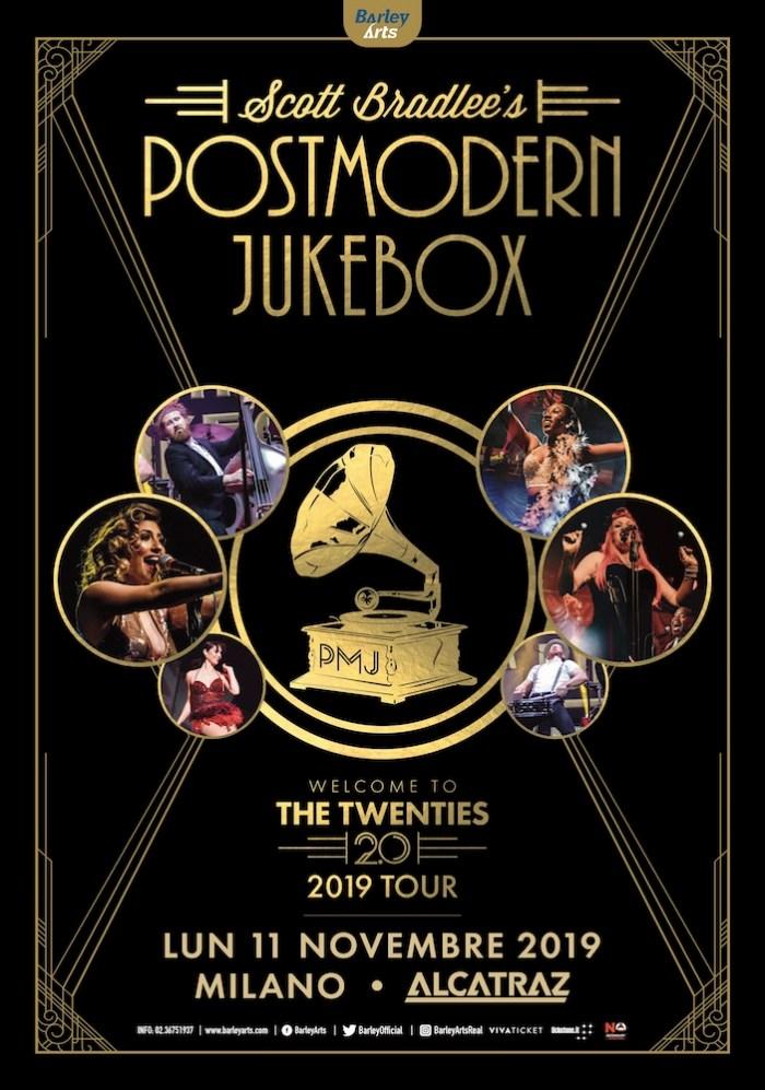 Contest per vincere 1 biglietto per i Postmodern Jukebox l'11 novembre all'Alcatraz di Milano