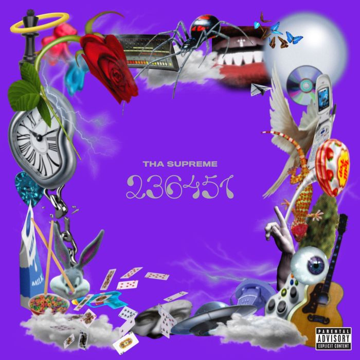 """Tha Supreme copertina debut album """"23 6451"""""""