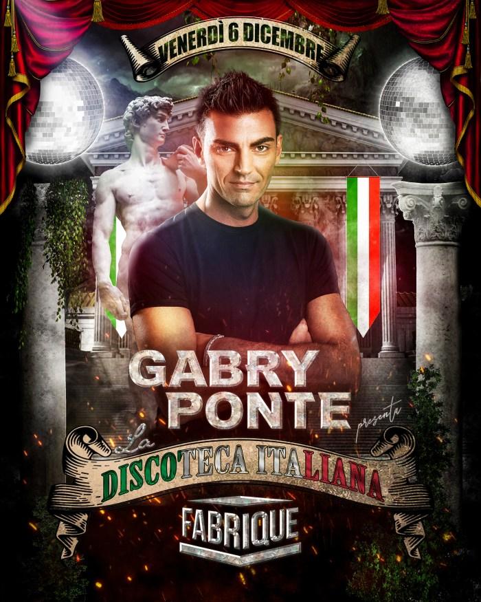 Gabry Ponte show La Discoteca Italiana