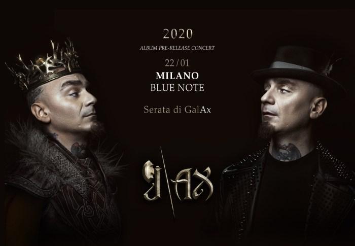 J-Ax in concerto il 22 gennaio 2020 al Blue Note di Milano